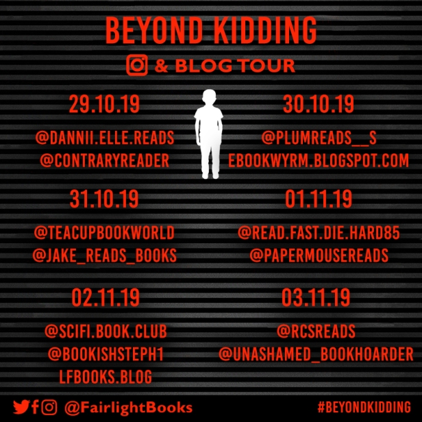 Beyond Kidding Blog Tour